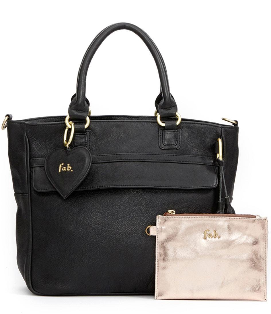 Fab Laptoptassen Charlotte Business Bag Zwart