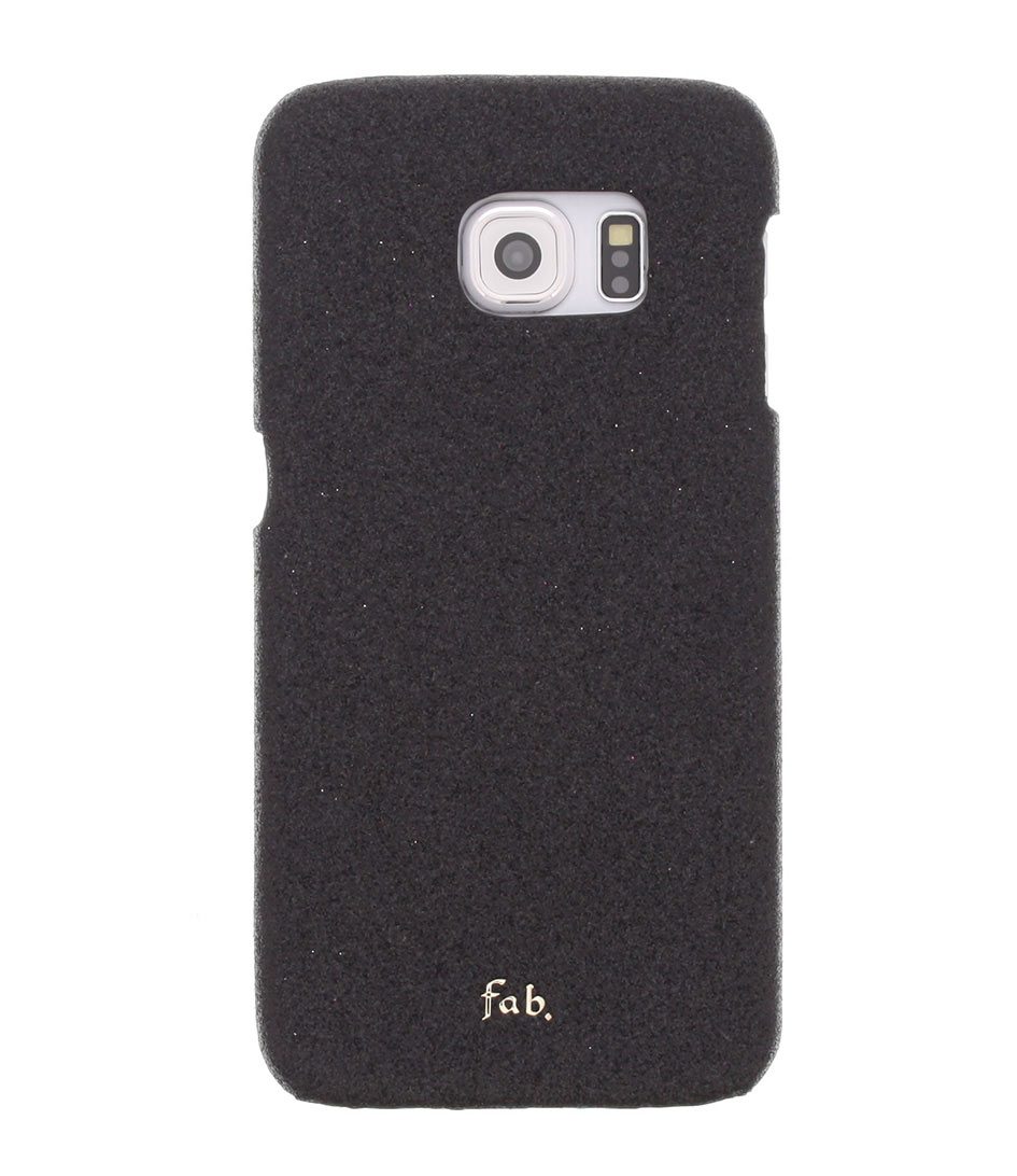 Fab Smartphone covers Rockstar Hardcase Galaxy S6 Edge Zwart