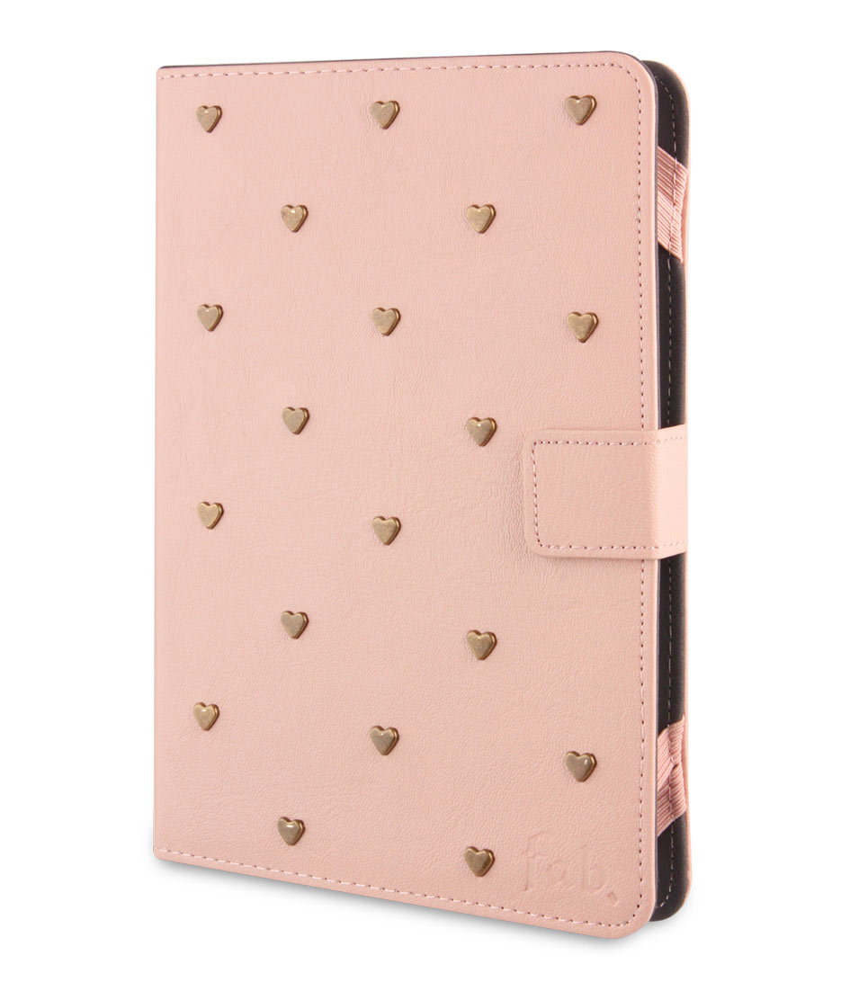 Fab Tablet sleeves Tablet Folio Case 7 8 inch Roze