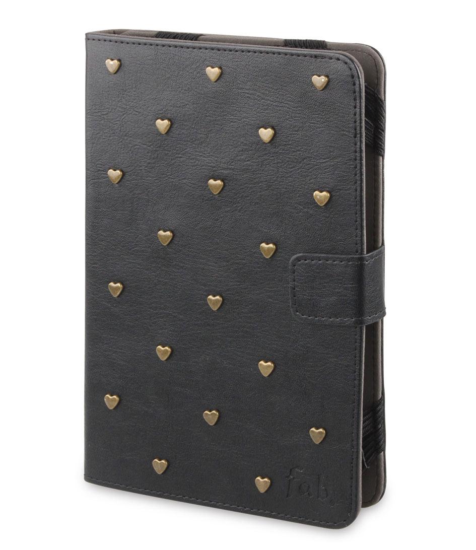 Fab Tablet sleeves Tablet Folio Case 7 8 inch Zwart