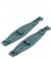 Fjallraven 23506 Kanken Mini Shoulder Pads Frost Green (664)