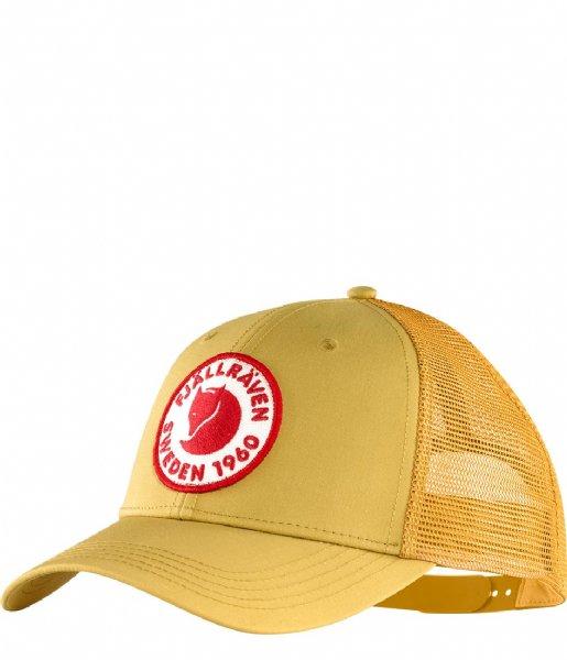 Fjallraven Hoed - cap Logo Langtradarkeps ochre (160)