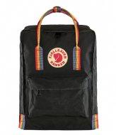 Fjallraven Kanken Rainbow Mini black rainbow pattern (550-907)