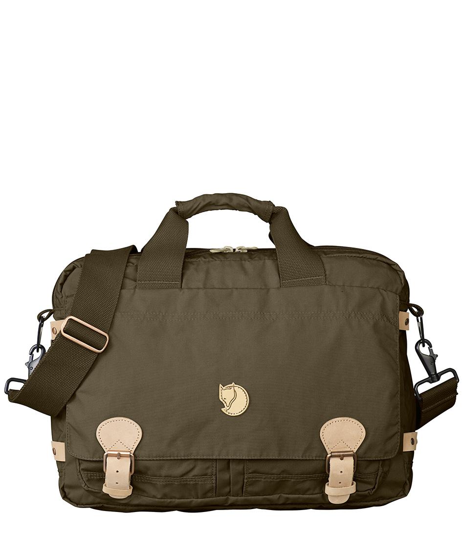 Fjallraven Laptoptassen Vintage Briefcase Groen
