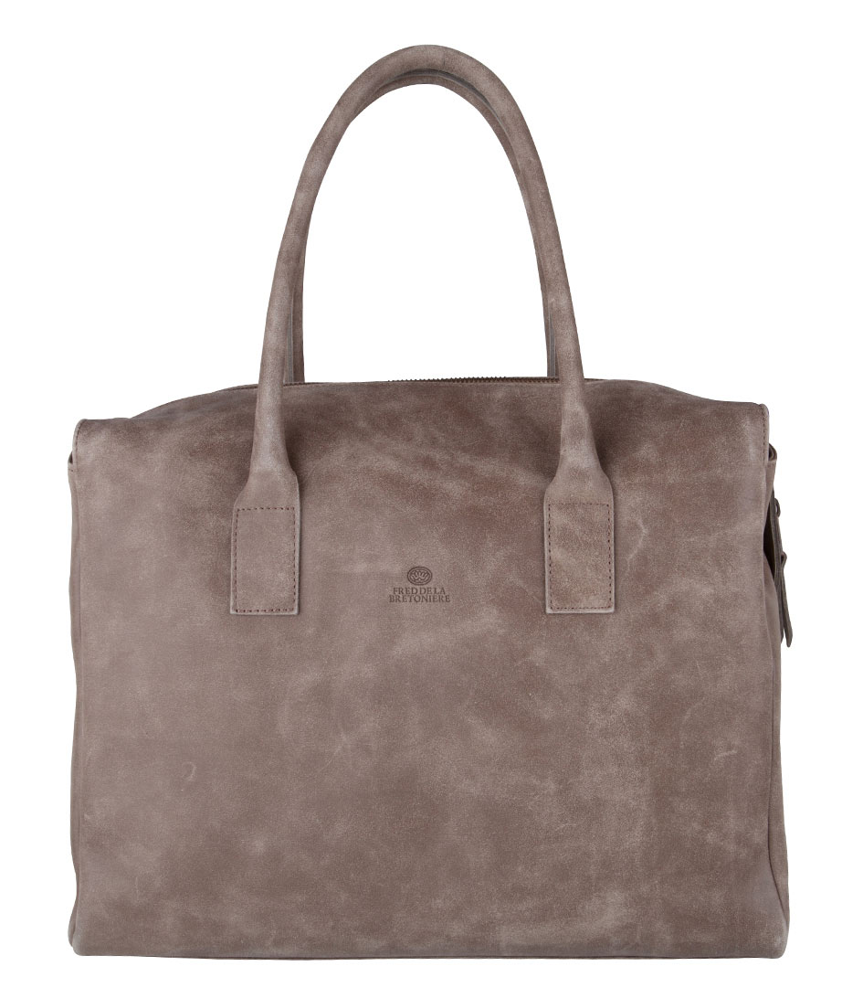 Fred de la Bretoniere Handtassen Ruth Large Bag Bruin