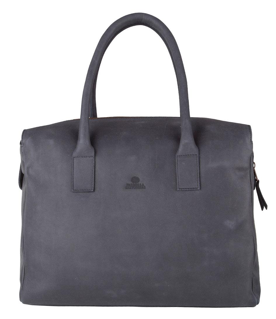 Fred de la Bretoniere Handtassen Ruth Large Bag Zwart