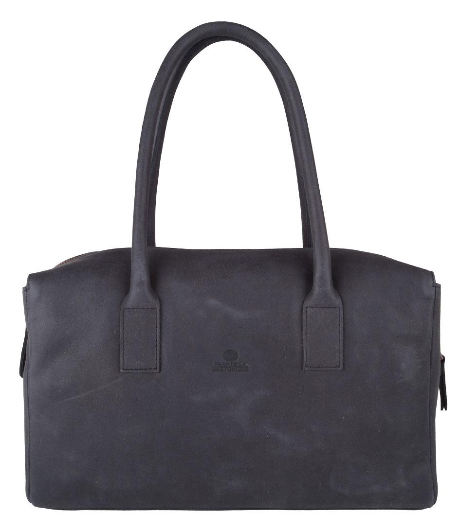 Fred de la Bretoniere Handtassen Reggie Medium Bag Zwart