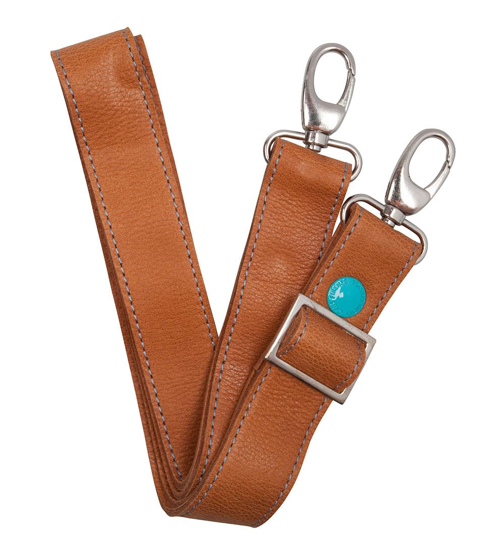Gabs Schouderhengsels Leather Shoulderbelt Bruin