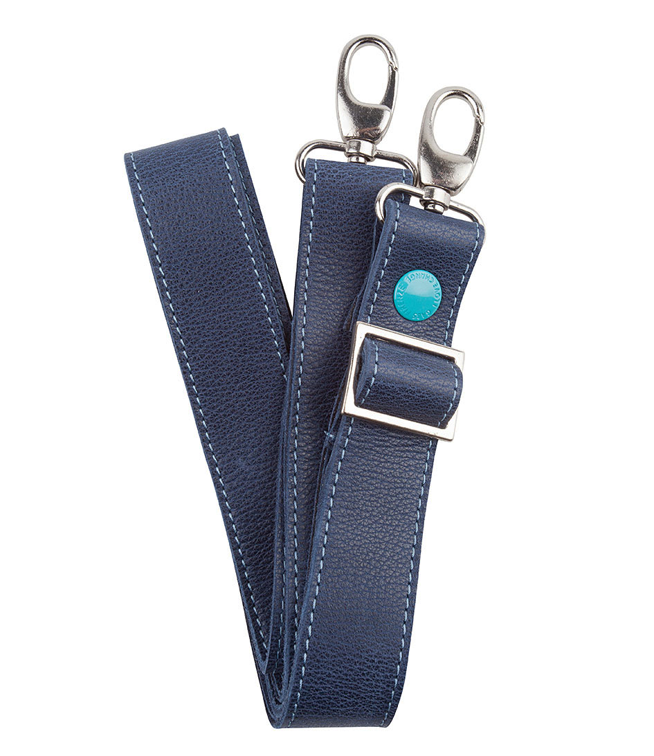 Gabs Schouderhengsels Leather Shoulderbelt Blauw