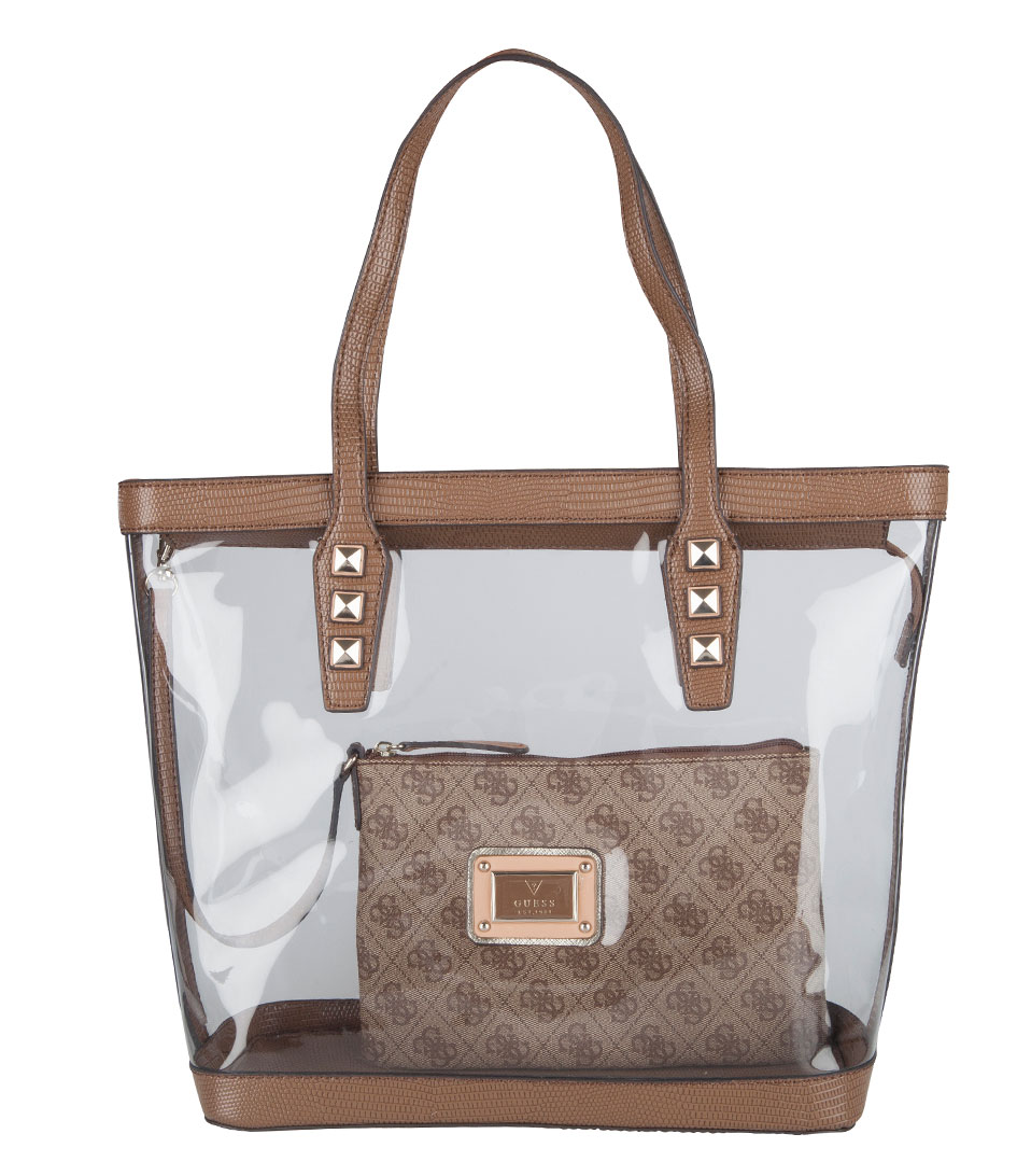 b831a6675c52 Clear Handbags  Guess Clear Tote Bags