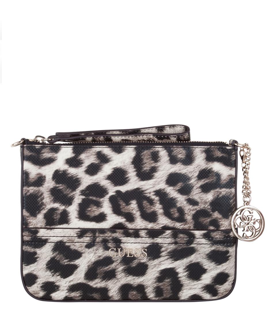 Guess Crossbody Tassen : Petite crossbody clutch leopard guess the little green bag