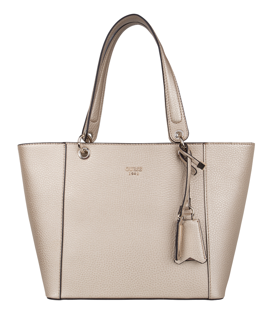 Sac Guess Noir Delaney : Kamryn tote gold guess the little green bag