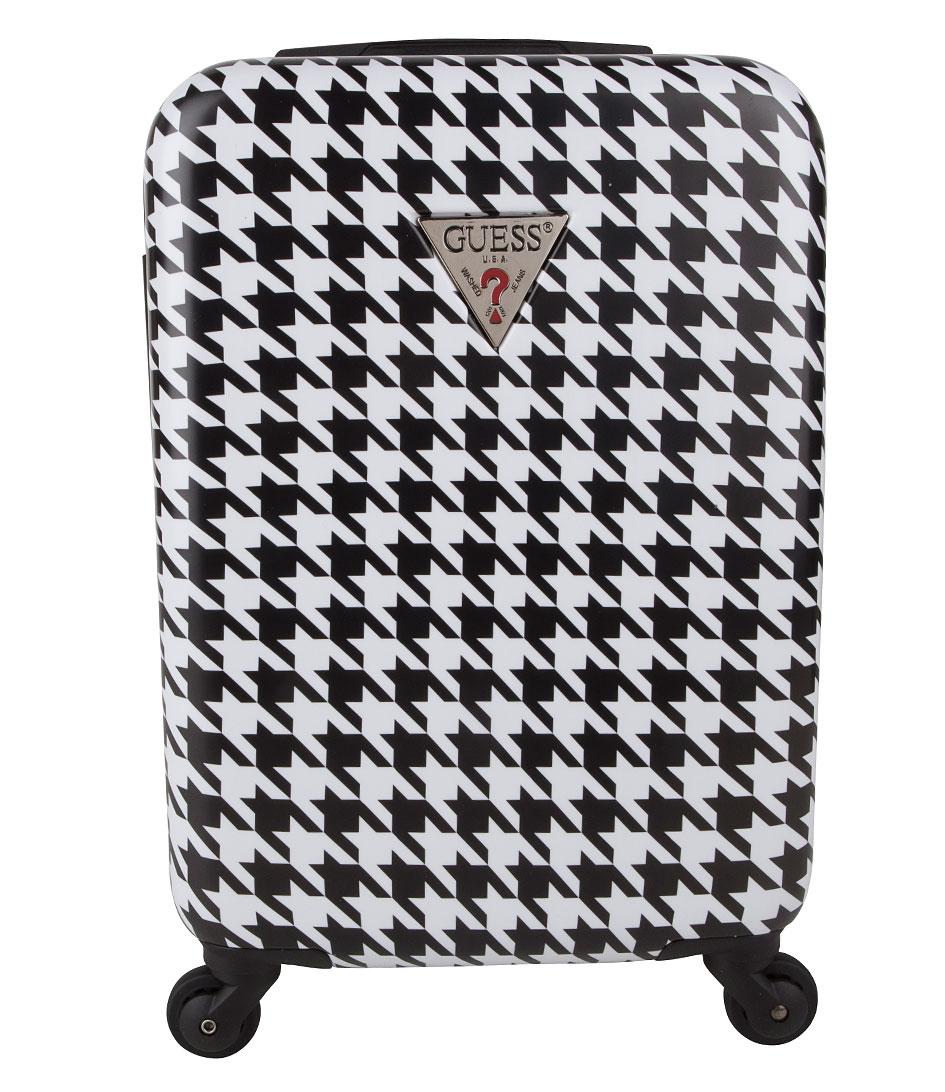 Guess Koffers Yuba 18 inch Spinner Suitcase Zwart
