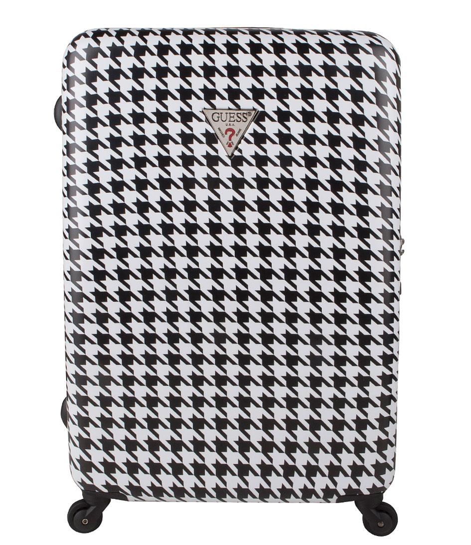 Guess Koffers Yuba 28 inch Spinner Suitcase Zwart