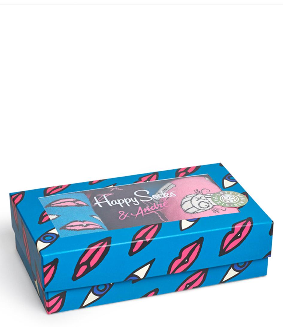 Happy Socks Sokken Mr. A 3 Pack Socks Blauw