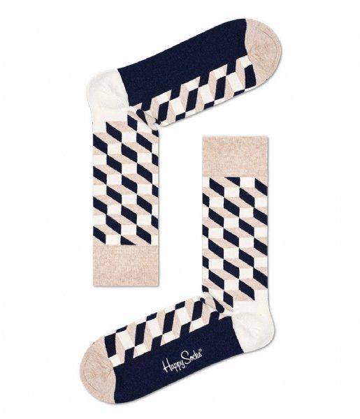 Happy Socks Sokken Filled Optic Socks filled optic (8000)
