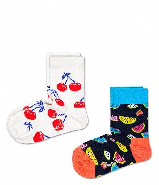 Happy Socks Sokken Kids 2 Pack Fruit Socks fruit (1300)