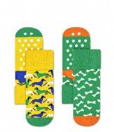 Happy Socks Dog Anti-Slip Socks  Multi