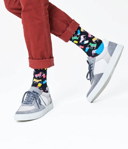 Happy Socks Sokken Milkshake Cow Socks milkshake cow (6500)