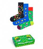 Happy Socks 3-pack Healthy Lifestyle Socks Gift Set healthy lifestyle (9300)