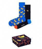 Happy Socks 2-pack Hot Dog Socks Gift Set hot dog (6300)
