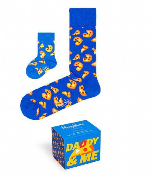 Happy Socks Sokken Mini & Me Pizza Gift Box pizza (6300)