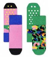 Happy Socks 2-Pack Leopard Anti-Slip Socks leopard (7500)