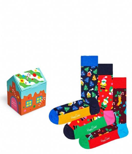 Happy Socks Sokken 3-pack Holiday Socks Gift Set holiday (0100)
