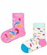 Happy Socks 2-Pack Cat Socks cat (3000)