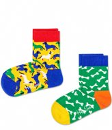 Happy Socks 2-Pack Dog Socks dog (7300)