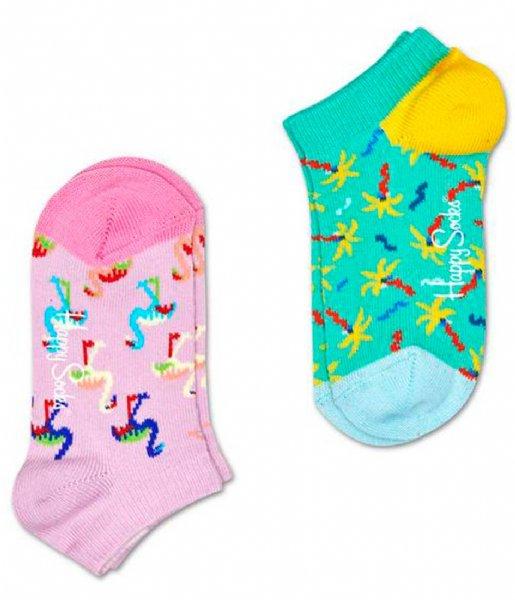 Happy Socks Sokken 2-Pack Confetti Palm Low Socks confetti palm (7000)