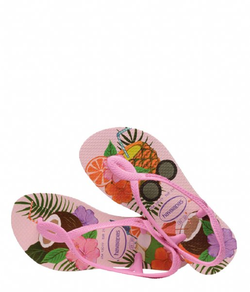 Havaianas Slippers Flipflops Luna Print crystal rose (1141)