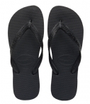 Havaianas Unisex Top Flip Flops Black EU 39-40-UK 6-7