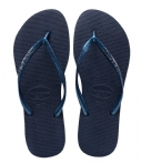 Slippers Havainas Slim dames blauw