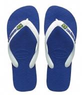 Havaianas Flipflops Brasil Logo marine blue