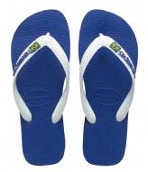 Havaianas Kids Flipflops Brasil Logo marine blue