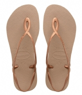 Havaianas Flipflops Luna rose gold colored (5282)