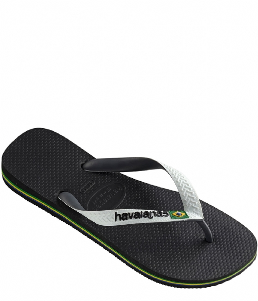 Havaianas Slippers Flipflops Brasil Mix black/white (0133)