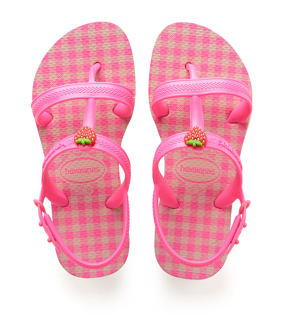 kids flipflops joy spring ballet rose shocking pink fluor 1250 havaianas the little green bag. Black Bedroom Furniture Sets. Home Design Ideas