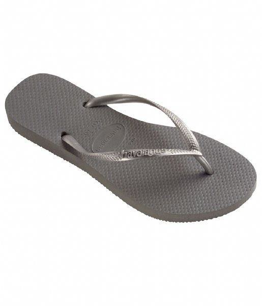 Havaianas Slippers Kids Flipflops Slim steel grey (5178)