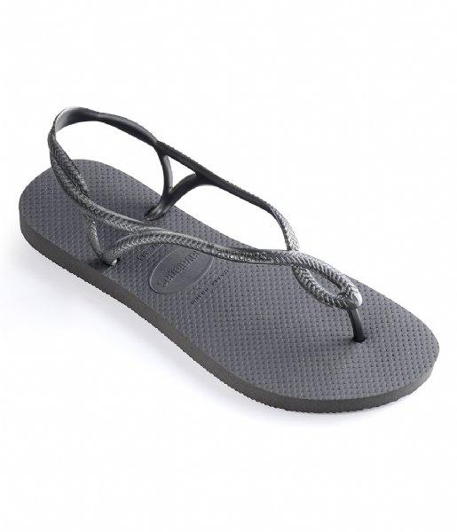 Havaianas Slippers Flipflops Luna steel grey (5178)