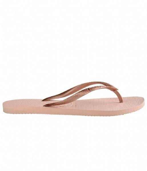 Havaianas Slippers Flipflops Slim ballet rose (0076)