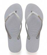 Havaianas Flipflops Slim Glitter steel grey (3498)