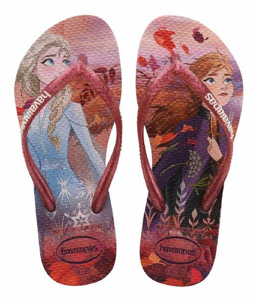 Havaianas Slippers Flipflops Kids Slim Frozen crystal rose (1141)