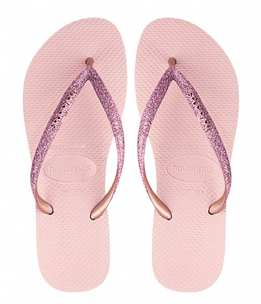 Havaianas Slippers Flipflops Kids Slim Shiny ballet rose (0076)