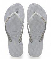 Havaianas Flipflops Kids Slim Shiny ice grey (3498)