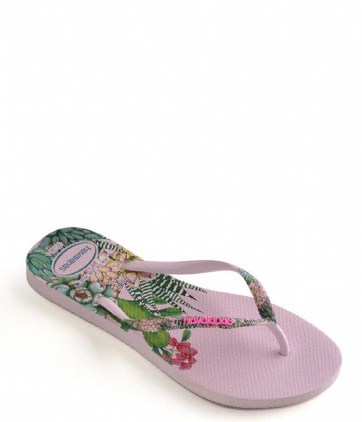 Havaianas Slippers Flipflops Slim Sensation crystal rose (1141)