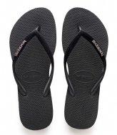 Havaianas Flipflops Slim Velvet black (0090)