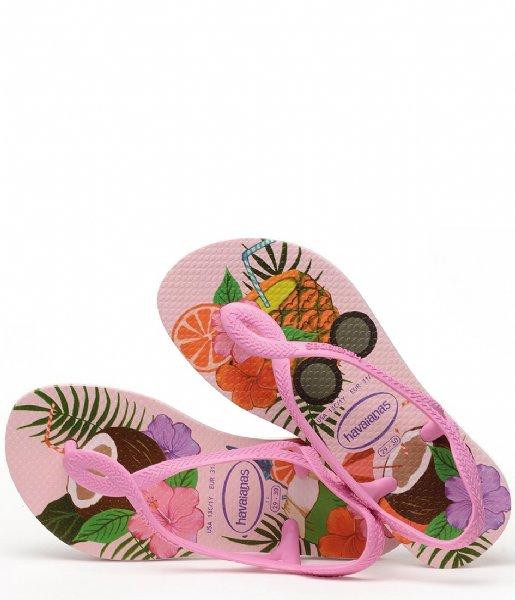 Havaianas Slippers Kids Flipflops Luna Print Crystal rose (1141)