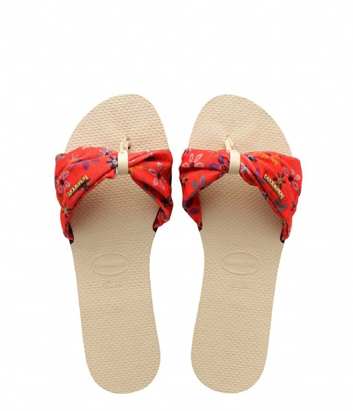 Havaianas Slippers Flipflops You Saint Tropez beige (0121)